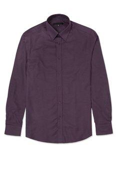 Two Tone Shirt - Burgundy Modern Man, Sports Shirts, Daily Wear, Stylish Outfits, Men Fashion, Burgundy, Shirt Dress, Casual, How To Wear