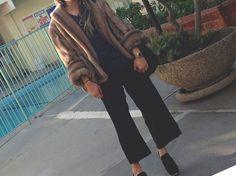 Vintage Faux Fur & Miu Miu
