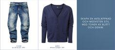 #MQ Blue Denim, Blues, The Selection, Pants, Fashion, Trouser Pants, Moda, Fashion Styles, Women's Pants