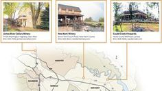 Check out this map of the wineries on the Virginia Peninsula.