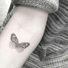 Fine line style #butterfly tattoo by the one and only Dr. Woo @_dr_woo_ #smalltattoos ...   Use Instagram online! Websta is the Best Instagram Web Viewer!