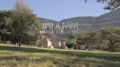 "Madi a Thavha by 100% op Reis. Madi a Thavha, meaning ""water from the mountains"", is set in a beautiful and quiet valley of the Soutpansberg Mountains of Northern Limpopo, only 10 km drive from the centre of Louis Trichardt."