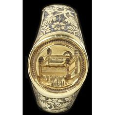 Signet ring Place of origin:England, Great Britain (made) Date:1400-1500