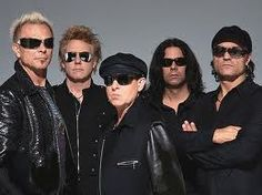 Scorpions are a German rock band formed in 1965. Since the band's inception, their musical style has ranged from hard rock to heavy metal. The band's only constant member is guitarist Rudolf Schenker, although Klaus Meine has been lead singer for all their studio albums.