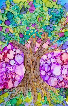 (via Pin by Melissa Bliss on Tree Art | Pinterest)