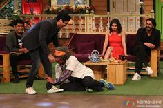 Catch Photos: Rock On 2 Team On The Sets Of The Kapil Sharma Show