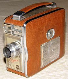 Vintage Keystone 8mm Movie Camera, Model K-32 Olympic, Light