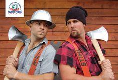 Lumberjack Feud- Grab a camp style meal at #LumberjackFeud and cheer for your favorite lumberjacks in #PigeonForge.