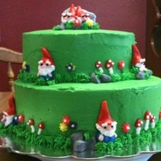 Gnome cake = AWESOME!!!