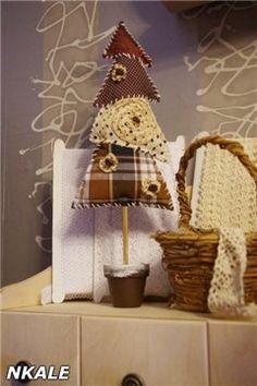 NKALE :-) В каждой игрушке сердце: Мастер-класс от Nkale: Текстильная Ёлочка