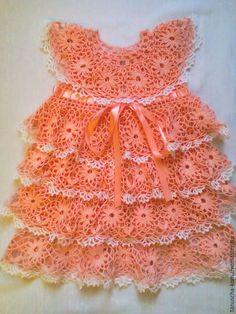 all free crochet, crochet baby dress, crochet dress, croch Crochet Toddler Dress, Crochet Baby Dress Pattern, Baby Girl Dress Patterns, Baby Girl Crochet, Crochet Baby Clothes, Baby Patterns, All Free Crochet, Crochet For Kids, Baby Dress Tutorials