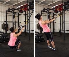 TRX exercises for balance   exercise   feet   workout   challenge