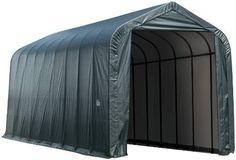 ShelterLogic 95944 Green 14'x44'x16' Peak Style Shelter by ShelterLogic. $2799.95