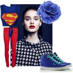 louis tomlinson merchandise   Louis Tomlinson inspired superman shirt (school) - Polyvore