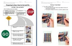 Cutting and Pinning DOs and DON'Ts