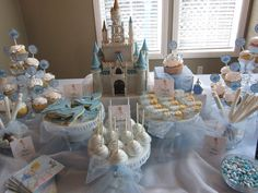 Holy Moly I love this!! Love the monogram on the castle, it mimicks mine and bobs wedding cake!! <3