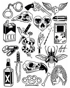Thank you everyone that participated in my flash tattoo sale and helped me to promote and celebrate the new flash sheets! These designs… Flash Art Tattoos, Body Art Tattoos, New Tattoos, Sleeve Tattoos, Tattoo Flash Sheet, Arabic Tattoos, Dragon Tattoos, Tatoos, Tattoo Main