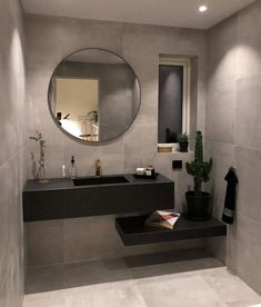 Modern bathroom sinks to emphasize small bathroom design - latest decorModern bathroom sinks to emphasize small bathroom design ceiling wall storage space sloping roof wood These inspiring bathroom mirror ideas Home Interior Design, Bathroom Mirror Design, Decor, House Interior, Amazing Bathrooms, Home, Interior, Beautiful Bathrooms, Home Decor