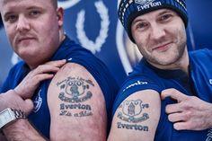 Everton fc tattoos Everton Fc, Football, Tattoos, Sports, Pictures, Soccer, Hs Sports, Photos, Tatuajes
