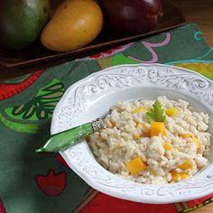 Mango & Coconut Milk Risotto