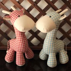 Giraffe - PDF Sewing Pattern & Tutorial Softie Suffed animal/toy by…