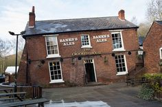 Britain's 'drunkest pub': This tipsy-looking tavern really is this wonky:  The Crooked House in Himley, Staffs., has one end 4ft lower than the other, Mining during the 1800s caused subsidence and gave the boozer it's quirky look.