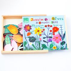 Flower magnets by Nathalie Lété