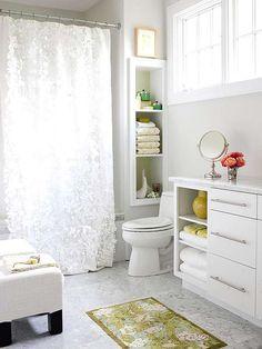 decorar el baño con elegancia