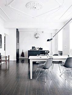 life as a moodboard: Dark&White Scandinavian Kitchen
