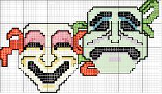 Χειροτεχνήματα: σχέδια με μάσκες για κέντημα /mask cross stitch patterns