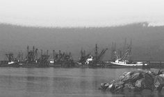 Boats In Harbor Charcoal Digital Art by Chalet Roome-Rigdon - Boats In Harbor Charcoal Fine Art Prints and Posters for Sale