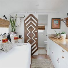 This vintage trailer remodel was inspired by a Pendleton blanket and the interior is beyond dreamy! #travel 2 nights, half marathons worth traveling for, #travel insurance agency, travel ukraine, travel 3x, travel insurance cost, go toob travel bottles, travel trailers used near me, authorized disney travel agents, travel by jenni tehachapi, travel channel food paradise narrator, faa travel delays, travel europe on a budget, travel gadgets for dad.
