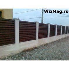 Gard de lemn Calarasi Fence Gate Design, Design Case, Garage Doors, Outdoor Decor, Home Decor, Garden Fencing, Decoration Home, Room Decor, Home Interior Design