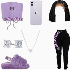 Boujee Outfits, Baddie Outfits Casual, Swag Outfits For Girls, Teenage Girl Outfits, Cute Swag Outfits, Cute Comfy Outfits, Girls Fashion Clothes, Teen Fashion Outfits, Retro Outfits