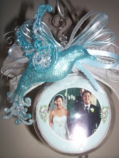 Wedding Ornament Personalized Photo Ornaments, Wedding Ornament, Beautiful Gifts, Snow Globes