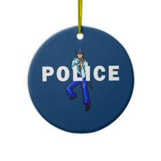 Police Action Christmas Ornament