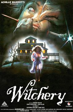 John's Horror Corner: Witchery an aimless haunted house movie starring David Hasselhoff and Linda Blair. Classic Disney Movies, Classic Movie Posters, Classic Horror Movies, Movie Poster Art, All Horror Movies, Horror Films, Scary Movies, Gugu, Linda Blair