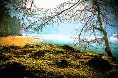 'Walchensee'+von+Dirk+h.+Wendt+bei+artflakes.com+als+Poster+oder+Kunstdruck+$18.03