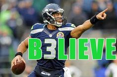 B3lieve the Seahawks are going to the Super Bowl!!!!!