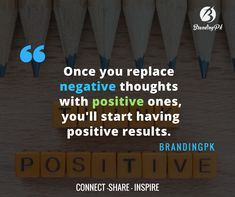 """""""Once you replace negative thoughts with positive ones, you'll start having positive results."""" #positivethoughts #successquotes #quotes #sayings #motivationalquotes #inspirationalquotes #success #positive #thoughts"""