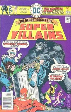 THE SECRET SOCIETY OF SUPER VILLAINS 1, BRONZE AGE DC COMICS
