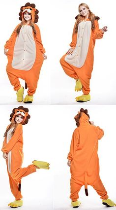 Buy Anime Lion Onesies Halloween Costume Animal Pajamas 0ab7c5b16