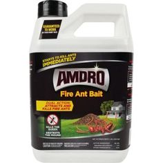 Kill Carpenter Ants, Kill Fire Ants, Ant Pest Control, Queen Ant, Bait Trap, Outdoor Areas, Indoor Outdoor, Spiders, Active Ingredient