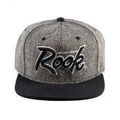 82c8f783974 ROOK SMOKE STACKS HAT TWEED BLACK RKHO14058-TWD