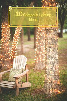 10 Gorgeous outdoor lighting ideas