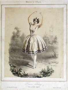 Fleury Louise - french dancer