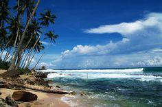Beach, Beruwala, Sri Lanka #SriLanka #Beruwala #Beach