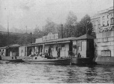 1900 To WW2 by Dick Paterson.Between 1901-03 by 1910, most patrols were power driven.Over this period, the division was extending its patrols with two combined river and land stations at Erith and Barnes.The ex-naval hulks which had served as floating police stations were replaced with a floating pontoon known as Waterloo Pier and another land station at Blackwall. The patrols then extended some 36 miles from Teddington to Dartford Creek.Thames Police 'Chowkidah' at Waterloo Pier Pontoon