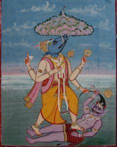 by akasagarbha_aka_oscarThis Varaha in Sanskrit #वराह,...