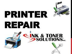 Ink & Toner Solutions is your full service source for your laser, inkjet printer or copier repair in the Northampton, Springfield & Western Massachusetts area.   www.slideserve.com/jesika01/printer-repair